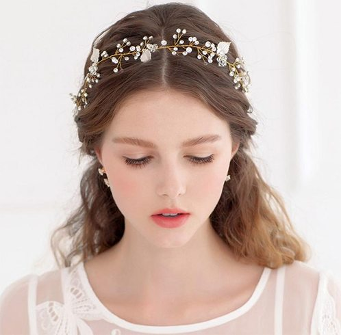 gorgeous bridal hair accessories from the west our girls in the east