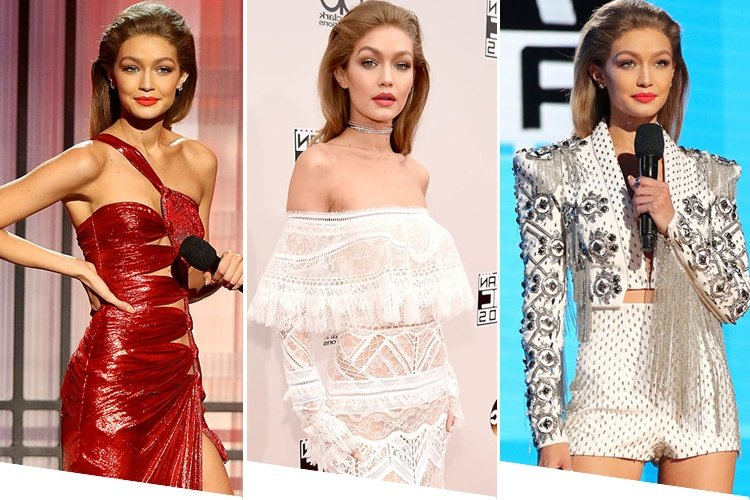 Gigi Hadid at The AMAs 2016