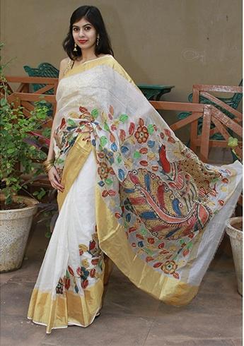 Kalamkari Sarees Design
