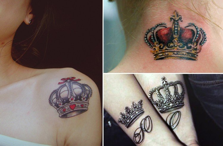 Crown Tattoos A Royal Form Of Body Art You Could Try