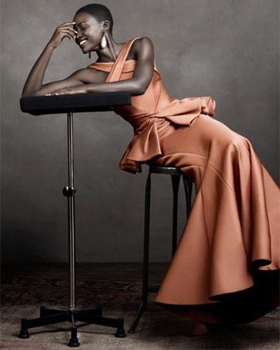 Lupita Nyongo Oscar Dress
