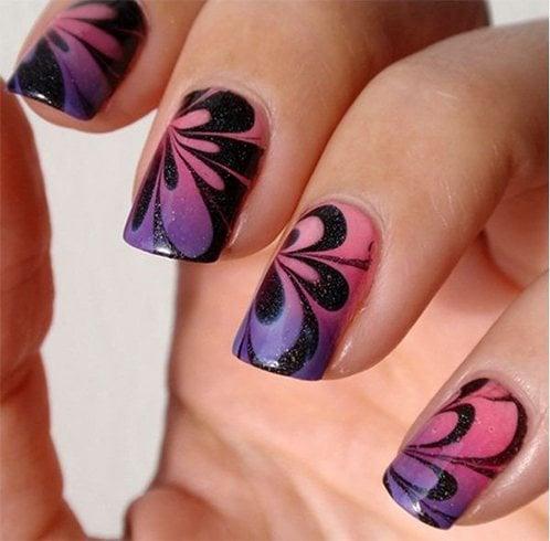 Marble Nail Art Designs