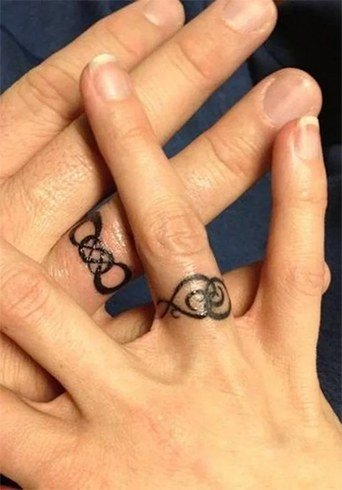 Marriage Ring Tattoos
