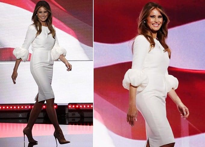Melania Trump RNC Dress