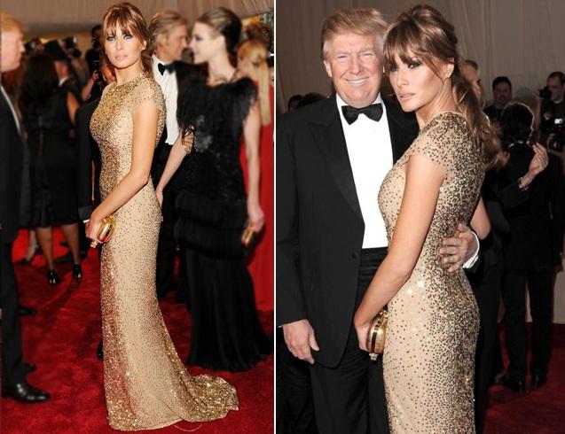 Melania Trump at Met Gala