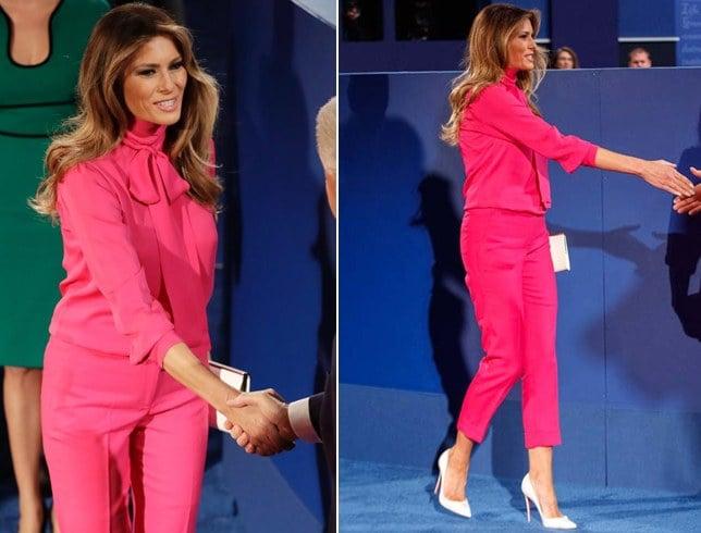 Melania Trump Designer Wear