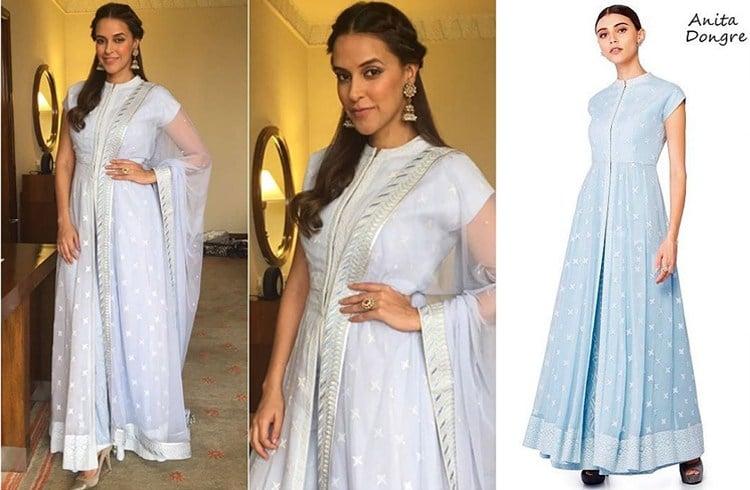 Neha Dhupia Designer Outfit