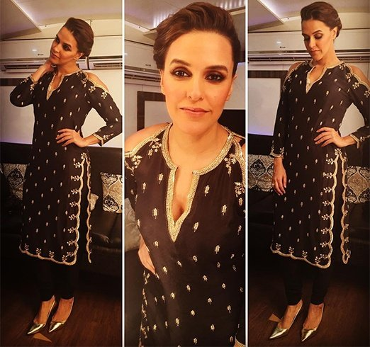 Neha Dhupia In Payal Singhal