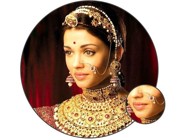A Must Have Fashion Accessory The Bollywood Nose Ring Top Quality Jewelry Replica Outlet