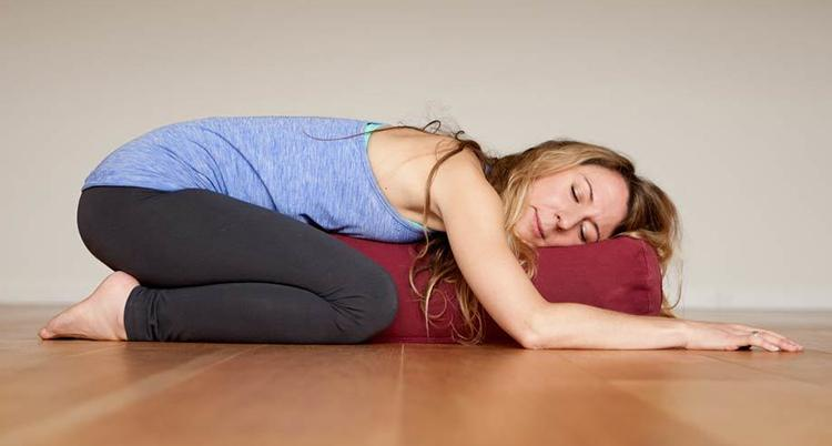 Restorative Yoga Without Props
