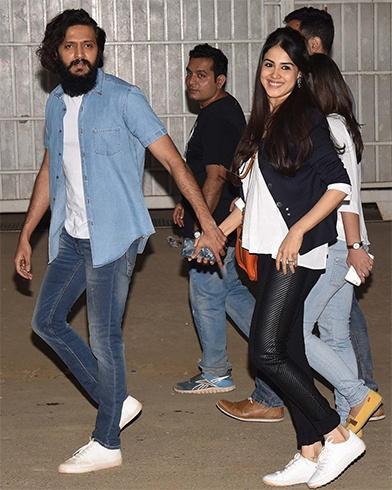 Ritesh Deshmukh and Genelia