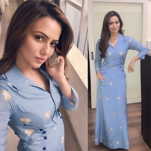 Sana Khan in Rinku Sobti