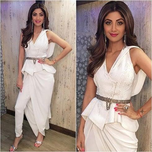 Shilpa Shetty Gaurav Gupta Outfit