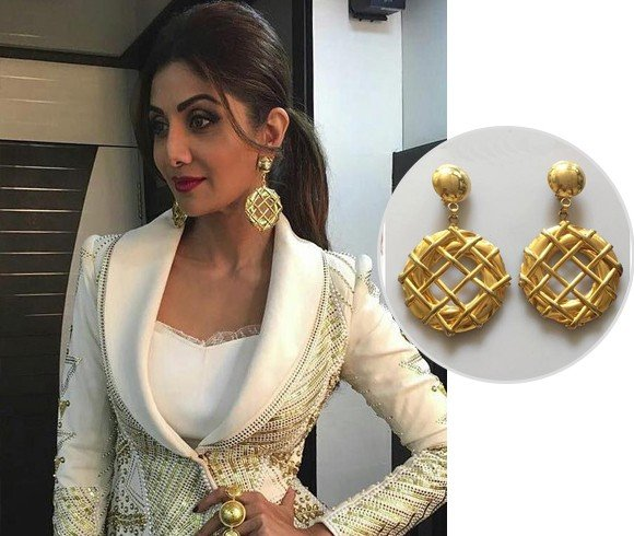 Shilpa Shetty Viange Earrings