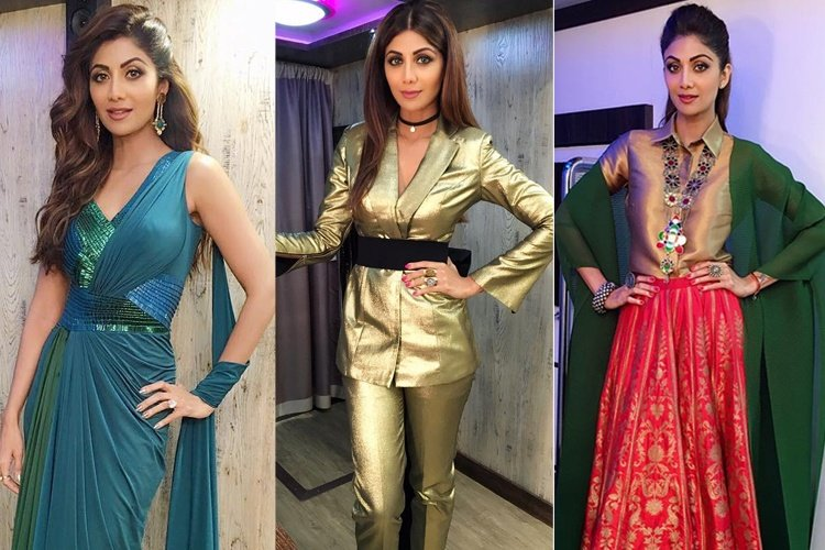 Shilpa Shetty Super Dancer Closet