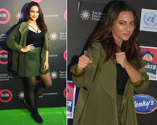 Sonakshi Sinha at Global Citizen