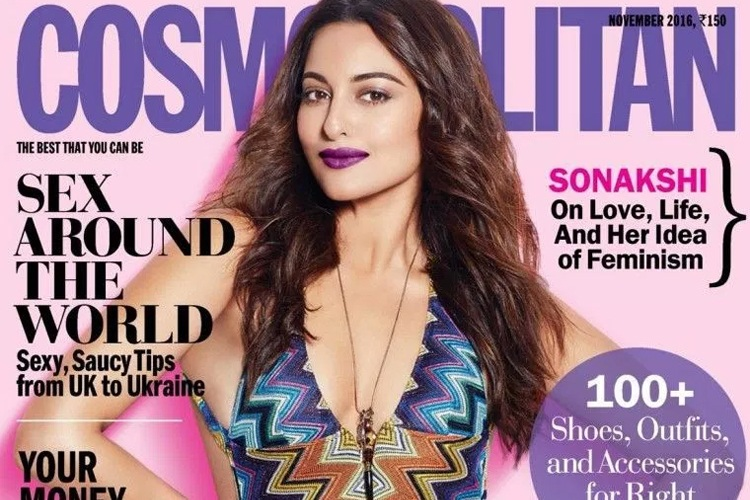 Sonakshi Sinha in Cosmopolitan Issue