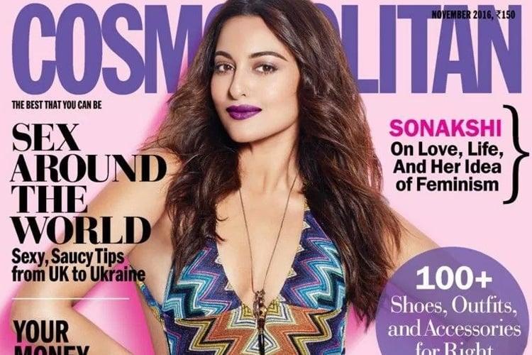 Sonakshi Sinha in Cosmopolitan Issue