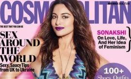 Sonakshi Sinha in Cosmopolitan Magazine