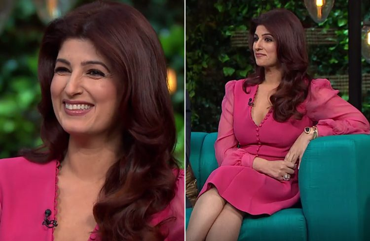 Twinkle at Koffee with Karan
