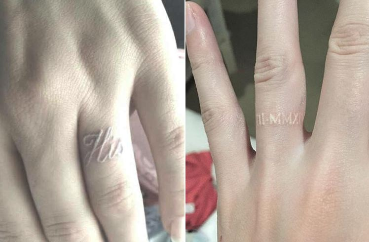 Up Your Engagement Ring For Wedding Ring Tattoos