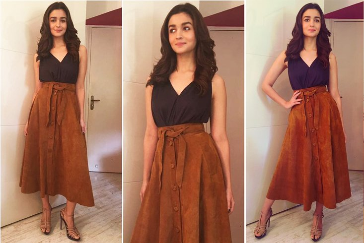Alia Bhatt With Gown