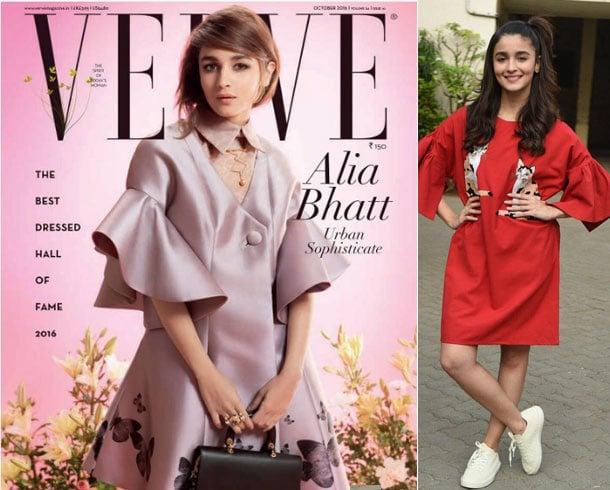 Alia Bhatt rocking short bell sleeves