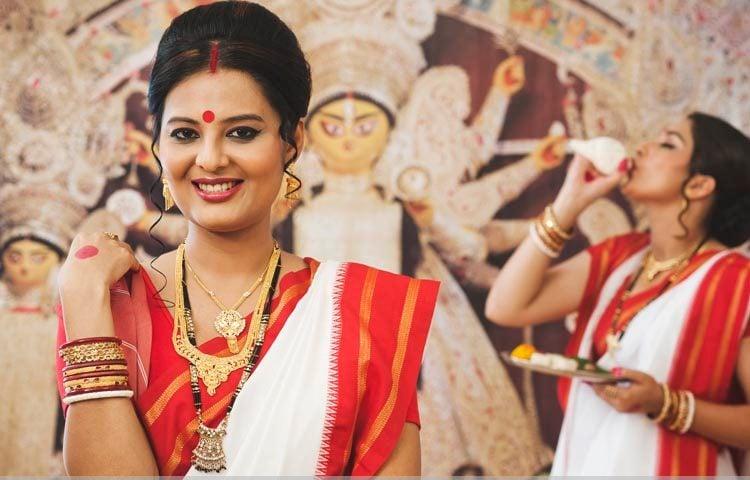 Bengali dressing style