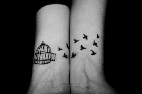 Cage Birds Tattoos