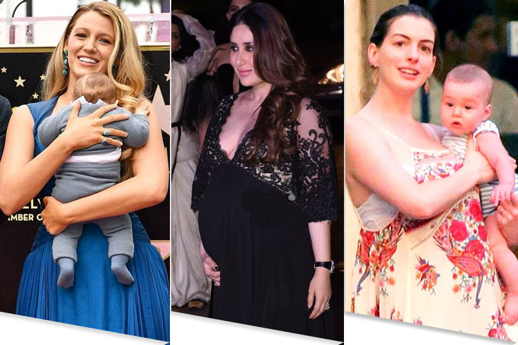 Celebrities Motherhood