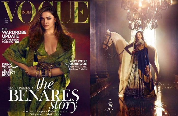 Deepika Padukone For Vogue India