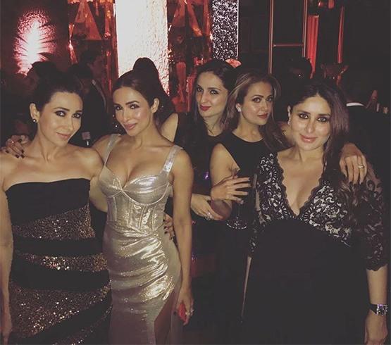 Kareena with girl gang