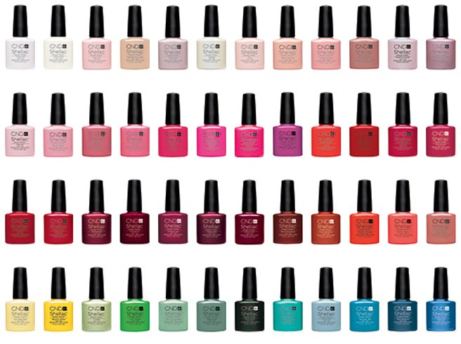 Manicure Types Shellac