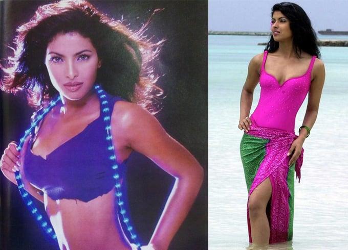 Priyanka Chopra Modelling Stage