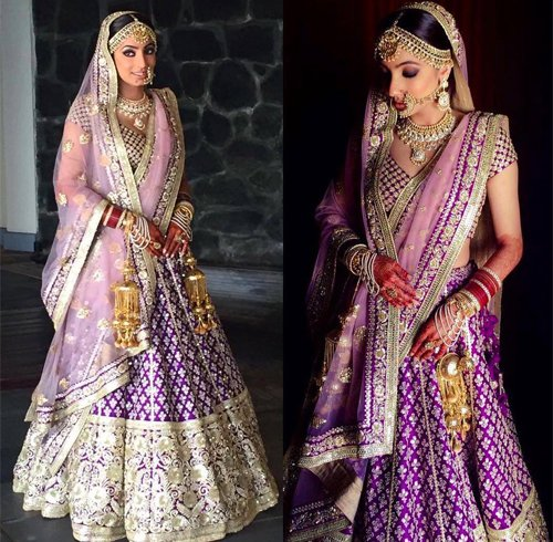 Purple Lehenga For Wedding