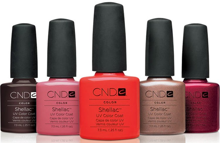 Shellac Manicure Colors
