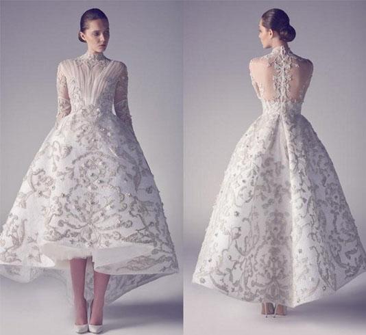 Tea length wedding dresses For Bridal