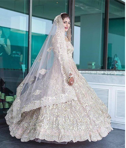White Lehenga For Wedding
