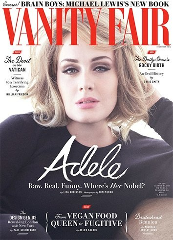 Adele On Vanity Fair