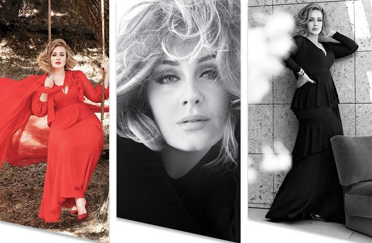 Adele On Vanity Fair