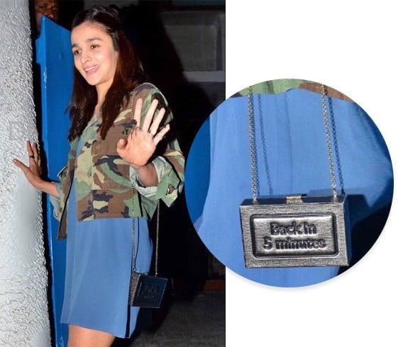 Alia Bhatt Hand Bags
