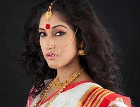 Bengali makeup hairstyle
