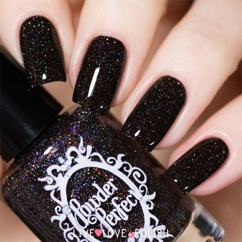 When theres black theres no turning back gorgeous black nail black nail art designs prinsesfo Images