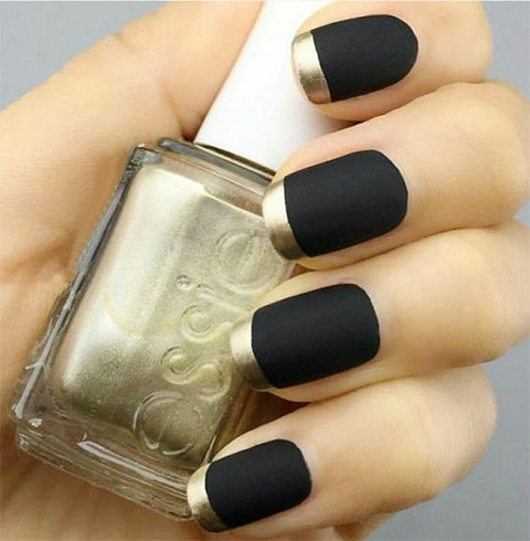 When Theres Black No Turning Back Gorgeous Nail