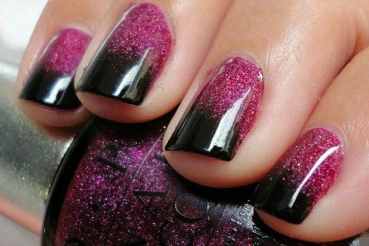 When There\'s Black There\'s No Turning Back- Gorgeous Black Nail ...