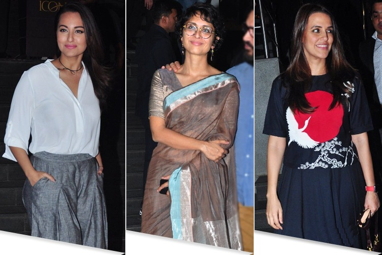 Bollywood Celebs At The Dangal Screening