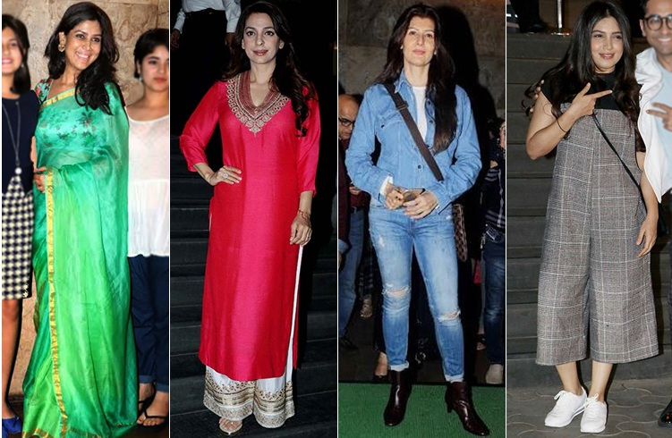 Celebs at Dangal Screening
