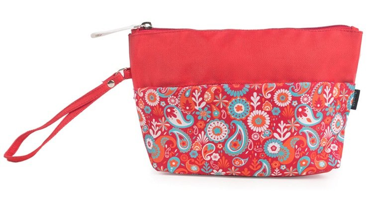 A quirky pouch for all things makeup and beauty