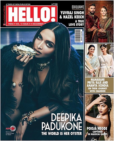 Deepika Padukone On Hello