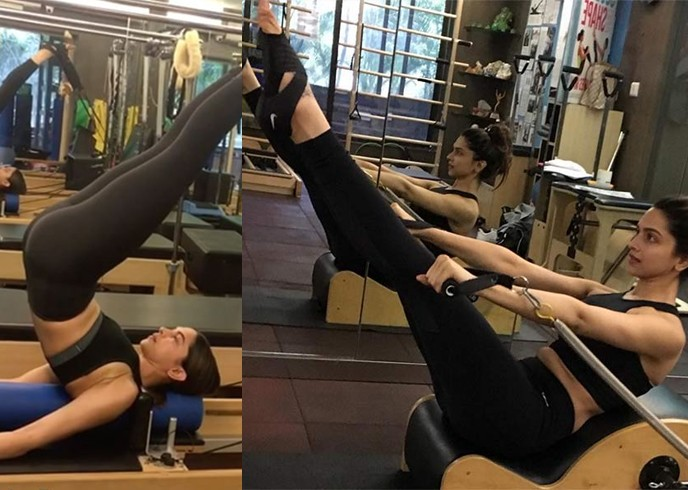 Deepika Padukone Workout